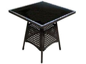 Стол для дачи из искусственного ротанга Garda