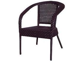 Плетёное кресло для дачи Garda