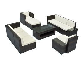 "Коллекция плетёной мебели для сада ""Garda-1007 R"""