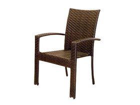 Кресло плетёное из искусственного ротанга Garda
