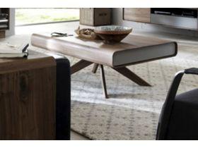 """Современный журнальный столик из натурального дерева """"Bo"""""""