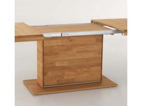 """Раздвижной стол из массива ольхи """"Curve"""""""