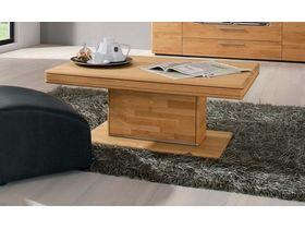 """Стильный журнальный столик из дерева """"Curve"""""""