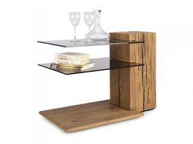 """Журнальный столик из дерева в гостиную """"Jon"""""""