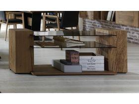 """Оригинальный журнальный столик из дерева """"Jon"""""""