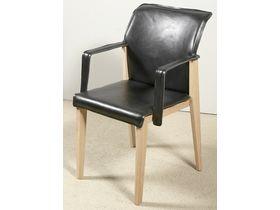 """Современный стул с подлокотниками из дерева """"Talis"""""""