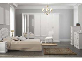"""Набор белой мебели для спальни """"Каролина"""""""