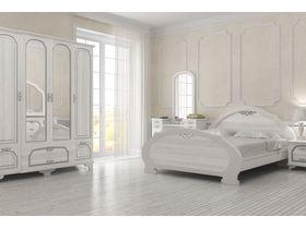 """Белый спальный гарнитур """"Лира"""""""