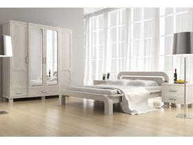 """Белая двуспальная кровать """"Селена 2"""""""