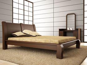 """Двуспальная кровать из массива """"Селена 2"""""""