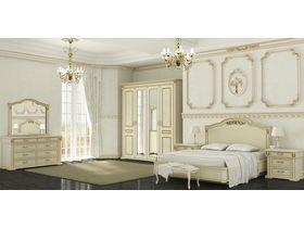 """Белый набор мебели в спальню """"Элегия"""""""