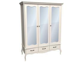 """Шкаф 3-х дверный с зеркальными дверями из коллекции """"Лебо"""""""