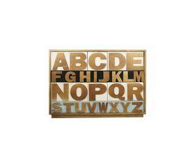 Комод для спальни с 10 ящиками Alphabeto Birch