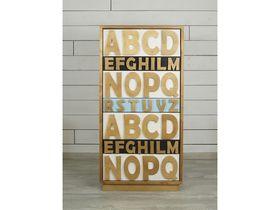 Высокий комод для спальни Alphabeto Birch