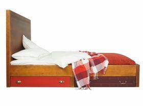 Односпальная кровать с ящиками для белья Gouache
