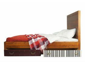 Двуспальная кровать с четырьмя ящиками Gouache