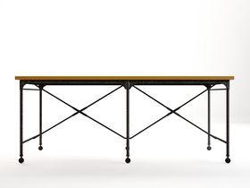 Большой обеденный стол Industrial