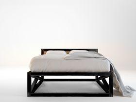 Дизайнерская двуспальная кровать Industrial
