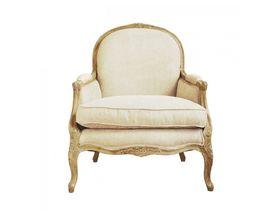 Большое винтажное мягкое кресло Прованс