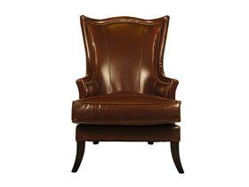 Большое кожаное кресло руководителя