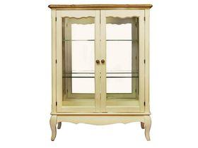 Двухдверный шкаф-витрина для гостинной
