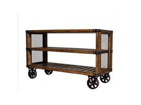 Трёхъярусная консоль на колёсиках Loft