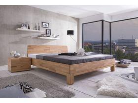"""Кровать c изголовьем из массива в минималистичном стиле  """"Rivo"""""""
