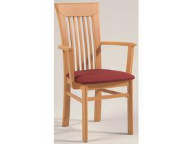 """Деревянный стул с подлокотниками на кухню """"Senator-Gold"""""""