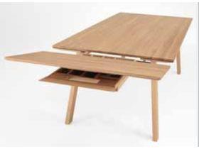 """Раздвижной обеденный стол из натурального дерева """"1893"""""""
