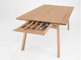 """Обеденный стол из натурального дерева для кухни """"1893"""""""