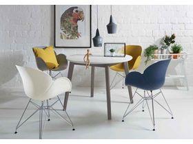 """Круглый стол из натурального дерева на кухню """"Soho"""""""