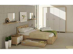 """Коллекция мебели для спальни в минималистическом стиле """"Палермо"""""""