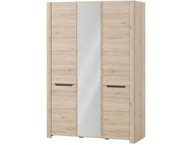 """Шкаф 3-дверный с зеркалом """"Desjo"""""""