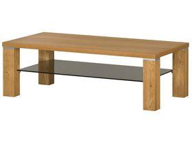 """Широкий журнальный стол из натурального дерева """"Torino"""""""