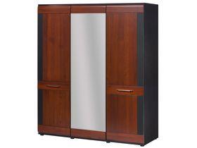 """Шкаф 3-дверный с зеркалом в гостиную """"Vievien"""""""