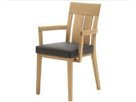 """Классический стул из дерева с подлокотниками """"Monte"""""""