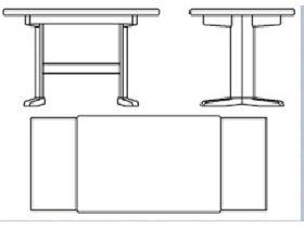 """Оригинальный раздвижной стол """"Pisa"""""""