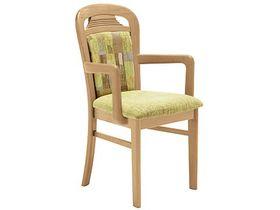 """Мягкий деревянный стул с подлокотниками """"Toledo"""""""